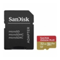 Карты памяти SanDisk 32 GB microSDHC UHS-I U3 Extreme PLUS + SD adapter SDSQXWG-032G-GN6MA