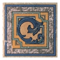 Керамическая плиткаPorcelanite Dos Ceramicas Taco Terraco 567 Peniscola 16,7x16,7