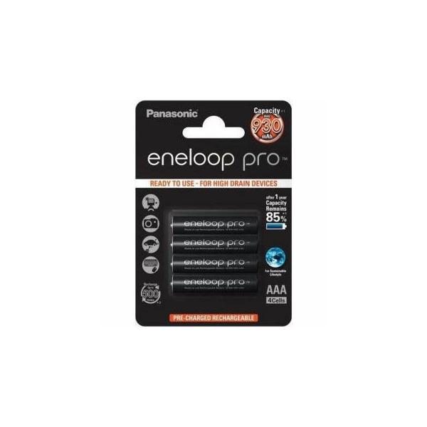 Panasonic Eneloop Pro AAA 980 mAh 4шт (BK-4HCDE/4BE)