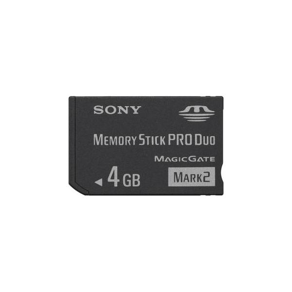 Sony 4 GB Memory Stick PRO Duo Mark2