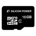 Карты памяти Silicon Power 16 GB microSDHC Class 10