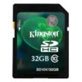 Карты памятиKingston 32 GB SDHC Class 10 SD10V/32GB