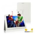 Чехлы и защитные пленки для планшетовTTX Asus MeMO Pad HD10 ME102A Leather case White (-ME102AW)