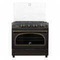 Кухонные плиты и варочные поверхностиMilano T90 G5/01 ретро черный