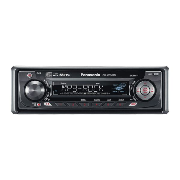 Скачать бесплатно инструкцию для автомагнитолы Panasonic CQ-C3301N.