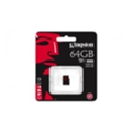 Kingston 64 GB microSDXC class 10 UHS-I U3 SDCA3/64GBSP