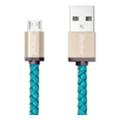 Аксессуары для планшетовPlusUs LifeStar microUSB 0,25m Cross Turquoise (LST1003025)