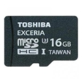 Карты памятиToshiba 16 GB EXCERIA microSDHC UHS-I U3 + SD adapter SD-CX16UHS1(6A)