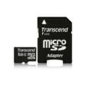 Карты памятиTranscend 8 GB microSDHC class 4 + SD Adapter