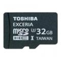 Карты памятиToshiba 32 GB EXCERIA microSDHC UHS-I U3 + SD adapter SD-CX32UHS1(6A)