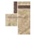 Paradyz Ardosie 9,8x13,2 beige