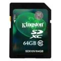Карты памятиKingston 64 GB SDXC Class 10 SDX10V/64GB