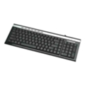 Клавиатуры, мыши, комплекты Manhattan Ultra Slim Multimedia Keyboard 177528 Black-Silver USB