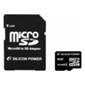 Карты памяти Silicon Power 4 GB microSDHC Class 4 SP004GBSTH004V10