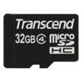 Карты памятиTranscend 32 GB microSDHC class 4 + SD Adapter TS32GUSDHC4