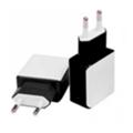Зарядные устройства для мобильных телефонов и планшетовDrobak Сетевое зарядное устройство Power Dual 220V-USB (White/Black) (905309)