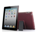 Dexim Carbon Case with Stand для iPad 2 красный (DLA196-R)