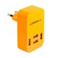 Зарядные устройства для мобильных телефонов и планшетовLogan Quad USB Wall Charger 5V 4A CH-4 Orange