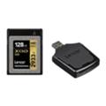 Карты памятиLexar 128 GB XQD 2933X Professional + USB 3.0 reader LXQD128CRBEU2933BN