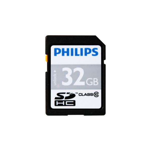 Philips 32 GB SDHC class 10 FM32SD45B/97
