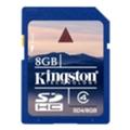 Карты памятиKingston SDHC Class 4 8Gb