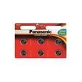Panasonic CR-2032 bat(3B) Lithium 6шт (CR-2032EL/6B)