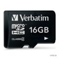 Карты памятиVerbatim 16 GB microSDHC class 4 (44007)