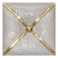 Unicer Cushion 20x20 nacar oro
