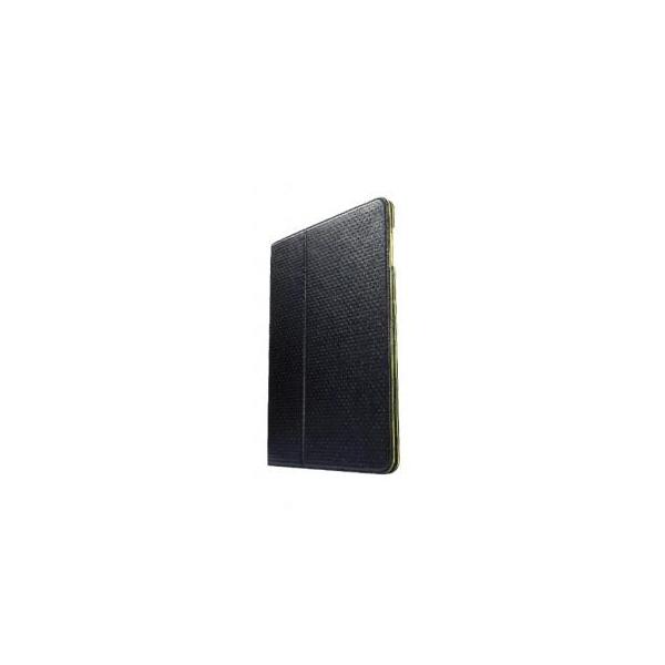 CAPDASE Protective Case Folio Dot iPad 2/iPad Black/Green (SLAPIPAD2-P016)
