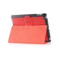 Чехлы и защитные пленки для планшетовi-Carer Чехол Genuine Leather for Apple iPad 2/3/4 Red RID202