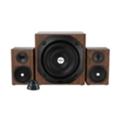 Компьютерная акустикаTrust Vigor 2.1 Subwoofer Speaker Set Brown (20244)