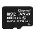Карты памятиKingston 32 GB microSDHC Class 10 UHS-I Industrial + SD Adapter SDCIT/32GB