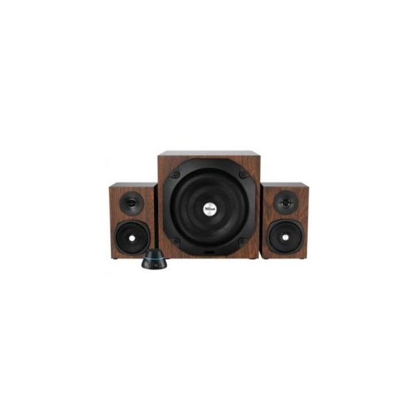 Trust Vigor 2.1 Subwoofer Speaker Set Brown (20244)