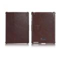Чехлы и защитные пленки для планшетовi-Carer Чехол Honourable for Apple iPad 2/3/4 Brown RID201
