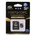Карты памятиTEAM 32 GB microSDHC Class 10 + SD Adapter TUSDH32GCL1003