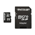 Карты памяти Patriot 16 GB microSDHC UHS-I + SD adapter PSF16GMCSDHC10