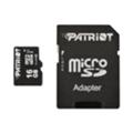 Карты памятиPatriot 16 GB microSDHC UHS-I + SD adapter PSF16GMCSDHC10