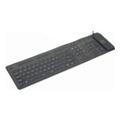 Клавиатуры, мыши, комплектыGembird KB-109F-B-RU Black USB+PS/2