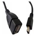 Компьютерные USB-кабелиAtcom USB2.0 AF/miniBM5P OTG 0.8m (12821)