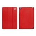 Чехлы и защитные пленки для планшетовi-Carer Чехол Ultra-thin Genuine для iPad mini Red RID794red