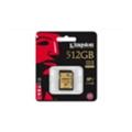 Карты памятиKingston 512 GB SDXC Class 10 UHS-I Ultimate SDA10/512GB