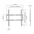Стойки и крепления для аудио-видеоBrateck KL22-44F