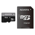 Карты памяти A-data 16 GB microSDHC class 10 UHS-I + SD adapter AUSDH16GUICL10-RA1