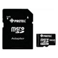 Карты памятиPretec 16 GB microSDHC Class 10 + SD Adapter