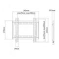 Стойки и крепления для аудио-видеоBrateck KL22-22F