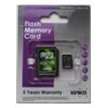 Карты памятиVerico 8 GB microSDHC Class 4 + SD adapter VFE1-08G-V1E