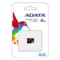 Карты памятиA-data 4 GB microSDHC class 4