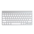 Клавиатуры, мыши, комплекты Apple Wireless Keyboard MC184 White Bluetooth