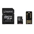 Карты памятиKingston 64 GB microSDXC class 10 Mobility Kit MBLY10G2/64GB