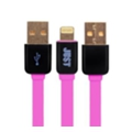 Аксессуары для планшетов Just Rainbow Lighting USB Cable Pink (LGTNG-RNBW-PNK)